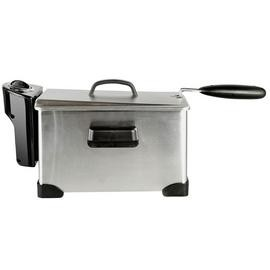 Save £5 at Argos on Cookworks XJ-10302 Semi Professional Fryer - Stainless Steel