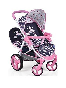 Save £3 at Very on Hauck Unicorn Malibu Doll Twin Stroller