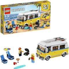 Save £5 at Argos on LEGO CREATOR Sunshine Surfer Van Construction Toy - 31079