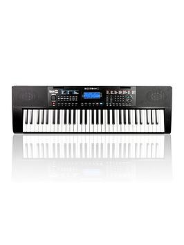 Save £30 at Very on Rockjam Rockjam Rj461Ax Full Size 61 Key Keyboard With Built In Alexa