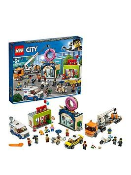 Save £8 at Very on Lego City 60233 Donut Shop Opening With Vehicles And 10 Minifigures