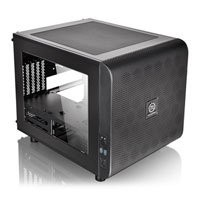 Save £13 at Scan on Thermaltake Core V21 micro-ATX Mesh Stackable Cube Computer Chassis with Window Panel, USB 3.0, 200mm Non-LED Fan