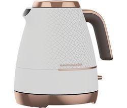 Save £6 at Currys on BEKO Cosmopolis WKM8307W Jug Kettle - White & Rose Gold