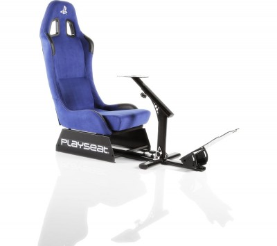Save £100 at Currys on PLAYSEAT Evolution Playstation Gaming Chair - Blue, Blue