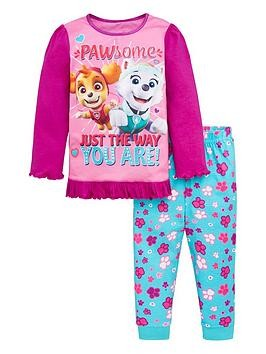 Save £2 at Very on Paw Patrol Toddler Girls Pawsome Pyjamas - Purple