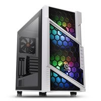 Save £34 at Scan on Thermaltake Commander C31 Snow Midi Chassis, Tempered Glass, 2x 200mm ARGB Fans/1x 120mm, USB 3.0, ATX/MicroATX/Mini-ITX