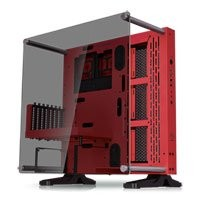 Save £15 at Scan on Thermaltake Core P3 Red Edition Open-air Chassis, Tempered Glass, USB 3.0, ATX/MicroATX/Mini-ITX