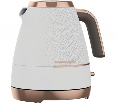 Save £6 at Currys on BEKO Cosmopolis WKM8307W Jug Kettle - White & Rose Gold, White