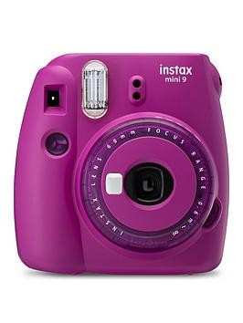Save £17 at Very on Fujifilm Instax Fujifilm Instax Mini 9 Clear Purple Instant Camera Inc 10 Shots - Instant Camera With 10 Pack Of Paper