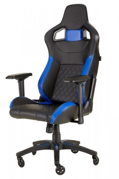 Save £30 at Ebuyer on Corsair T1 Race 2018 Black/Blue Gaming Chair