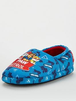 Save £5 at Very on Paw Patrol Boys Slippers - Multi