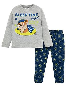 Save £3 at Very on Paw Patrol Boys Glow In The Dark Pyjamas - Light Grey