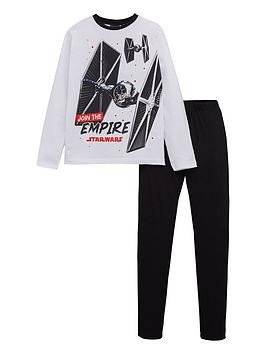 Save £3 at Very on Star Wars Lego Boys Empire Pyjamas - White