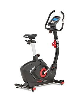 Save £50 at Very on Reebok Gb50 One Series Exercise Bike - Black With Red Trim