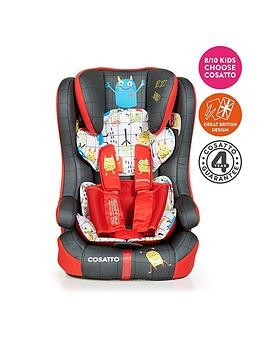 Save £20 at Very on Cosatto Cosatto Hubbub Group 123 Isofix Car Seat -Monster Mob