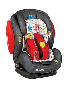 Save £30 at Very on Cosatto Cosatto Hug Group 123 Isofix Car Seat - Monster Mob