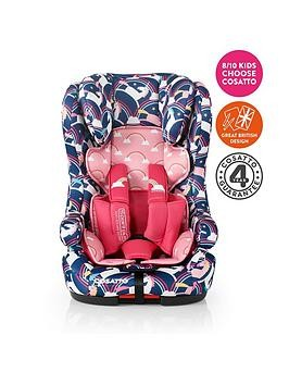 Save £20 at Very on Cosatto Hubbub Group 123 Isofix Car Seat - Magic Unicorns