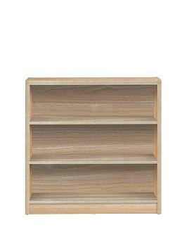 Save £3 at Very on Metro Small Wide Bookcase - Oak Effect