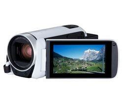 Save £70 at Currys on CANON LEGRIA HF R806 Camcorder - White
