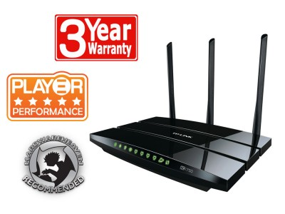 Save £10 at Ebuyer on TP-Link Archer C7 - AC1750 Wireless Dual Band Gigabit Router