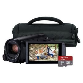 Save £50 at Argos on Canon Legria HF R806 Full HD Camcorder Bundle - Black