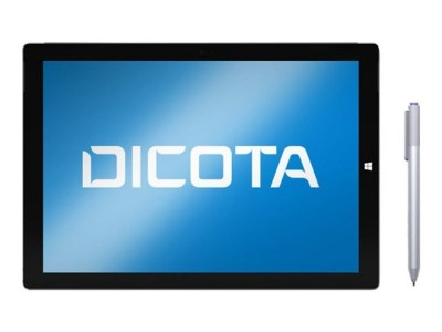 Save £8 at Ebuyer on DICOTA Secret 2-Way Privacy Filter for Microsoft Surface 3. With this installed, the view directly in front is unaffected but it prevents unwanted eyes from seeing what you see. This model is a 2-way version which protects from