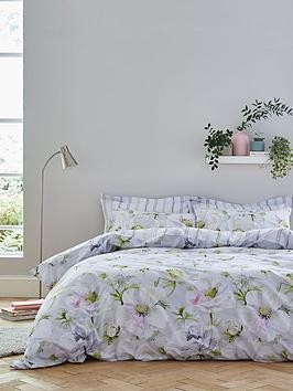 Save £10 at Very on Bianca Cottonsoft Arctic Poppy 100% Cotton Duvet Cover Set
