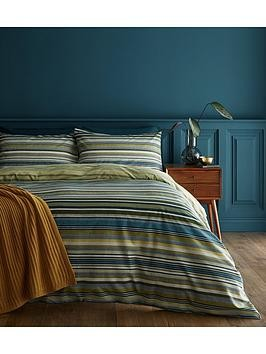 Save £2 at Very on Catherine Lansfield Ravenna Stripe Duvet Cover Set
