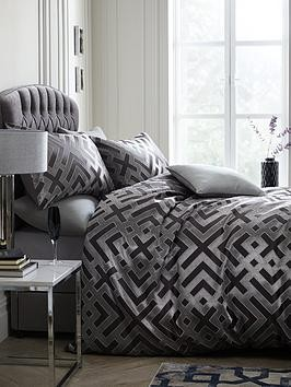 Save £5 at Very on Laurence Llewelyn-Bowen Sanremo Geometric Duvet Cover Set