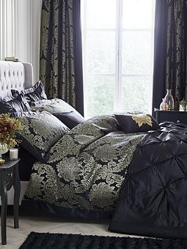 Save £7 at Very on Boston Glamour Duvet Cover Set - Black And Gold