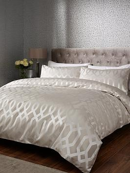 Save £12 at Very on Ideal Home Florence Geometric Duvet Cover Set