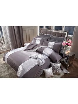 Save £7 at Very on By Caprice Silver Bow Duvet Cover