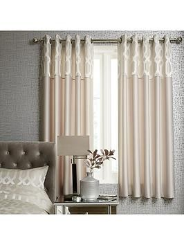Save £11 at Very on Ideal Home Florence Geometric Lined Eyelet Curtains