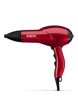 Save £4 at Very on Babyliss 5568Bu Salon Light 2100W Red Ac Hairdryer