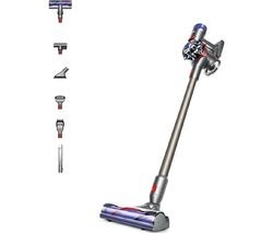 Save £75 at Currys on DYSON V8 Animal Extra Cordless Vacuum Cleaner - Nickel & Iron