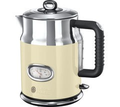 Save £40 at Currys on RUSSELL HOBBS Retro Vintage N21672 Jug Kettle - Cream