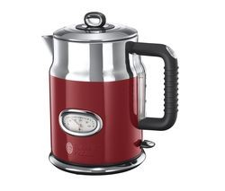 Save £40 at Currys on RUSSELL HOBBS Retro 21670 Jug Kettle - Red