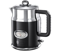 Save £40 at Currys on RUSSELL HOBBS Retro 21671 Jug Kettle - Black