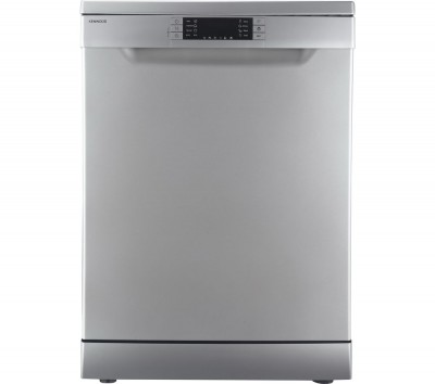 Save £40 at Currys on KENWOOD KDW60S16 Full-size Dishwasher - Silver, Silver
