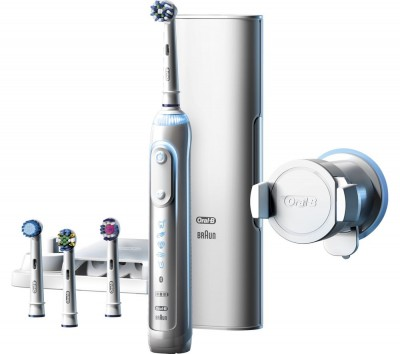 Save £14 at Currys on ORAL B Genius Pro 9000 Electric Toothbrush, White