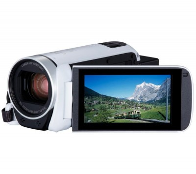 Save £70 at Currys on CANON LEGRIA HF R806 Camcorder - White, White