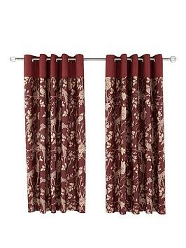 Save £16 at Very on Laurence Llewelyn-Bowen Royal Rose Garden Eyelet Curtains