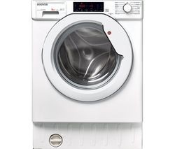 Save £40 at Currys on HOOVER HBWM 84TAHC-80 Integrated 8 kg 1400 Spin Washing Machine - White