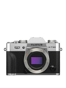 Save £96 at Very on Fujifilm X-T30 Body Only - Silver - X-T30 Camera With 15-45Mm Lens Kit