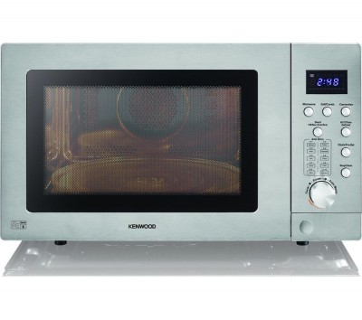 Save £50 at Currys on KENWOOD K25CSS19 Combination Microwave - Silver, Silver