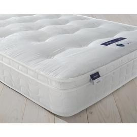 Save £66 at Argos on Silentnight Miracoil Travis Tufted Ortho Double Mattress