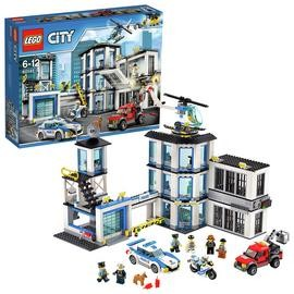 Save £13 at Argos on LEGO City Police Station, Helicopter Car & Bike Toys - 60141