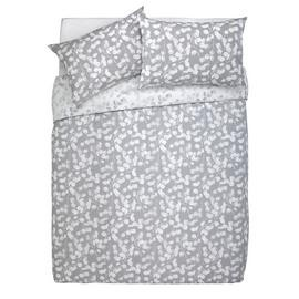 Save £6 at Argos on Argos Home Grey Honesty Bedding Set - Double