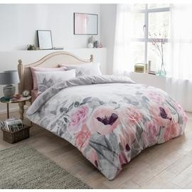Save £6 at Argos on Argos Home Faded Flowers Bedding Set - Single