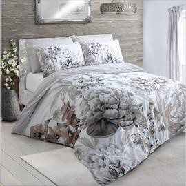 Save £6 at Argos on Argos Home Natural Floral Bloom Bedding Set - Single